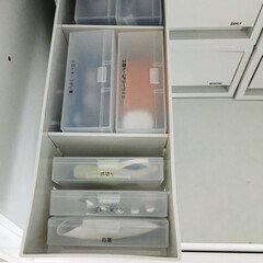 薬収納/薬/収納/無印良品/セリア/100均収納 我が家の薬収納。こちらは錠剤ではなく、目…