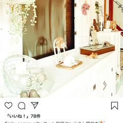 平成最後の一枚/玄関/DIY/下駄箱DIY/鎧戸/ホワイトインテリア/... InstagramのほうでLIMIAさん…