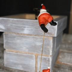 サンタクロース/Xmas/クリスマス/サンタがやって来た/サンタ/煙突/... よいしょ💦よいしょ💦 サンタがおうちにや…