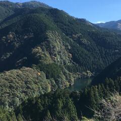 元気が出る/景色最高/景色/山/風景/旅 空気が澄んで、とても気持ちのいい景色でし…