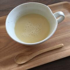 秋が深まる/温まる/コーンスープ/秋/おうちごはん おはようございます! 今朝は冷え込みまし…
