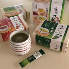 便利/インスタントお茶/インスタント/暮らし あると便利なインスタントのお茶。 スティ…
