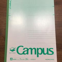 コクヨ キャンパスノート ドット入り罫線 セミB5 A罫 30枚 5色 ノ−GS3CATX5 1パック | コクヨ(ノート)を使ったクチコミ「KOKUYOのCampusのノートがお気…」