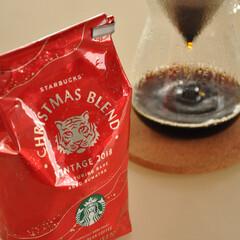 コーヒー/クリスマス/クリスマスブレンド/スタバ/グルメ スタバのクリスマスブレンドが出てくると、…