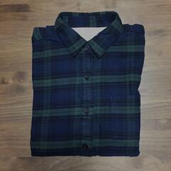 シャツ/衣類/無印良品/暮らし/節約 無印良品にて購入品。フランネルシャツ、2…