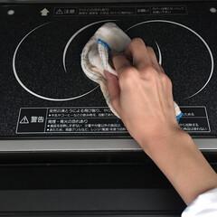 電子レンジ掃除/電子レンジ/キッチン/掃除/暮らし/節約 電子レンジのお掃除は、電子レンジを使った…