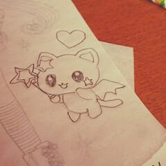 年長さん/5歳/写し絵 娘が描いた写し絵。 上手になってきたね~👏