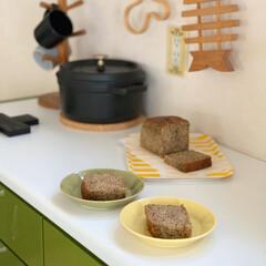 スパイスケーキ/紅茶のケーキ/チャイ/パウンドケーキ/お菓子作り/暮らしを楽しむ/... チャイのパウンドケーキ 作りました。  …