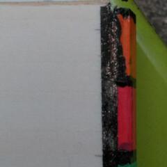 お絵かきセット/ハンドメイド/手作り/ハンドメイド作品/LIMIA手作りし隊/第3回わたしのハンドメイド 色鉛筆の箱の続きです 左右の色の着いてい…(5枚目)