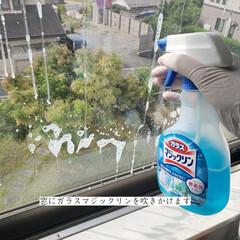 窓網戸用おそうじクロス/そうじの神様/ガラスマジックリン/拭き掃除/窓拭き/毎日こそうじ/... こんばんは😃🌃 . 今日のこそうじは、息…(3枚目)