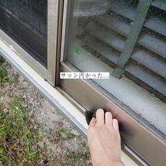 大掃除始めました/掃除/サンサンスポンジ/ホームリセット/クイックル/窓掃除/... こんばんは🌃 . . 今日のこそうじは、…(5枚目)