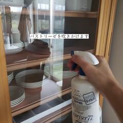 リベルタ/ママラクリーン/アルカリ電解水/パストリーゼ/キッチン用おそうじクロス/カッチコチブラシ/... こんばんは😃🌃 . . 今日のこそうじは…(3枚目)