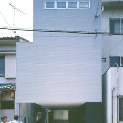 名古屋/アルスター鋼板小波板 シンプルでミニマムな外観。