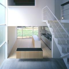 豊川市/モルタル 上部寝室の室内窓。