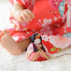 ふらここ/ひな祭り/雛人形/桃の節句/お雛様 初めてのひな祭り、初めてのお雛様。初節句…