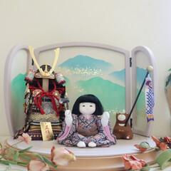 ふらここ/手作り/五月人形/インテリア/プレママ 見ていると、なんだか自然に心が和んできま…