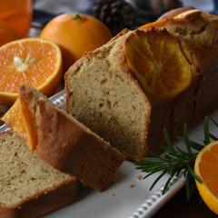 手作りケーキ/手作りお菓子/手作りスイーツ/手作りおやつ 今日のおやつ。 オレンジのコンフィを使っ…(2枚目)