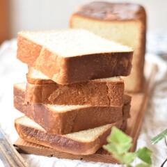 手作りパン 久々に焼いた角食。(2枚目)