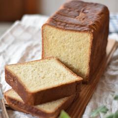 手作りパン 久々に焼いた角食。