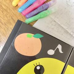 子供/赤ちゃん/折り紙/フォトアルバム/手作り/絵本/... アイデア投稿《20こ目》 100均のフォ…