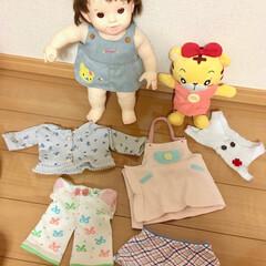 リサイクル/着せ替え/人形/おもちゃ/ハンドメイド ぽ◯ちゃん人形の着せ替え用の服を手縫いで…
