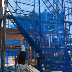 建築家/設計士/一級建築士事務所/上棟/大工さん 昨日、弊社事務所増築工事の上棟が行われま…