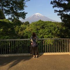 富士山/LIMIAおでかけ部/おでかけ/旅行/風景/おでかけワンショット 富士山🗻はっきり見えて綺麗だったな〜🥳