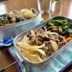 メスティン/キャンプ飯/男前 休日のお昼ごはん