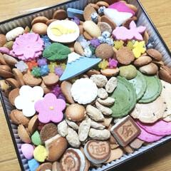 お祝い/おすすめ/お菓子/カラフル/嬉しい/美味しい/... 銀座 菊廼舎のお菓子を卒業祝いにいただき…