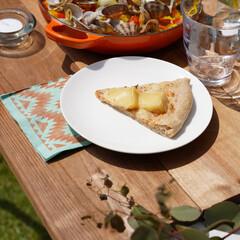 サンナップ/ロディ/アンドスケープ/おうちカフェ/アウトドア/キャンプ/... サンナップのテーブルナプキンは二枚重ねで…(1枚目)