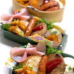 お弁当/ランチ 今日のお弁当☆彡 ✴︎リボンハム🎀 ✴︎…