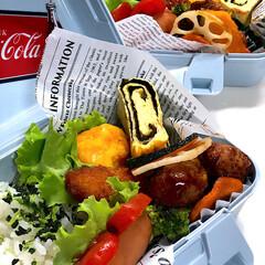 お弁当 今日のお弁当🍱   ウインナーでホットド…(1枚目)