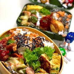 お弁当/ランチ/雑貨 今日のお弁当🍱 ✴︎ネギ入り卵焼き ✴︎…