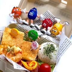 お弁当のおかず&便利グッズ/お弁当/雑貨 ホットサンド🥪 ✴︎卵とレタス ✴︎ハン…