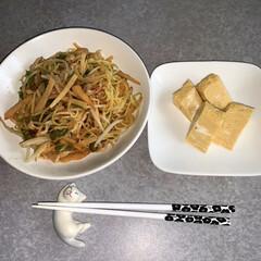 作りおきおかず/作り置きレシピ/お昼ご飯/おうちごはん/簡単/暮らし/... お昼ご飯です。 焼きそば。だし巻き玉子。…
