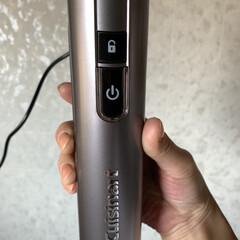 コードレス充電式ハンドブレンダー RHB-100J | クイジナート(その他調理用具)を使ったクチコミ「初クイジナート🥳👏🎉  充電してセットし…」