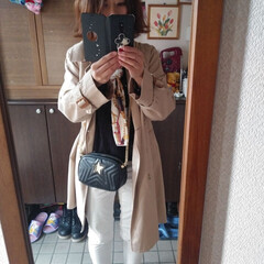 ファッション 今日のコーデはこんな感じ~✨(1枚目)
