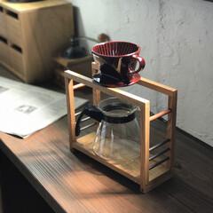 ナチュラルインテリア/手作り雑貨/インテリア雑貨/カフェ/カフェ風/カフェインテリア/... ドリップスタンド