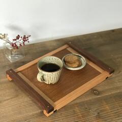 焼き菓子/コーヒー/暮らし/カフェ/トレイ/インテリア/... トレイ