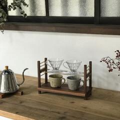 暮らしの道具/オーダー家具/大阪/キッチン雑貨/雑貨/インテリア/... ドリップスタンド 高さ調整が出来るのでカ…