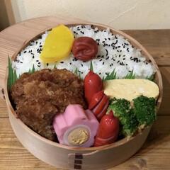 わっぱ弁当/丸弁/お弁当/グルメ/フード * * * 今日のお弁当は 神戸三田屋の…