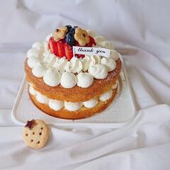 手作りクッキー/手作りおやつ/ホワイトデー/ショートケーキ/ネイキッドケーキ/手作りケーキ/...