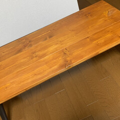 折りたたみテーブル/DIY/カフェ風 折りたたみテーブルをDIY🥰 使わなくな…(3枚目)