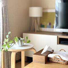 社宅/日々/暮らし/北欧/インテリア/家具/... 我が家は和室リビングですが、北欧のものに…