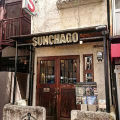次のコンテストはコレだ!/sunchagoburgers  サン/ハンバーガー/兵庫県/神戸市/栄町/... カッコ良すぎのお店‼️ そして、美味しす…