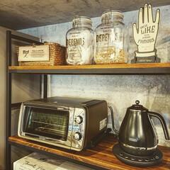デロンギ/キッチン雑貨/キッチン/リフォーム/limiaキッチン同好会 デロンギの、トースターと、電気ケトル‼️…