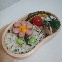 JK弁当/お弁当/LIMIAごはんクラブ/おうちごはんクラブ/わたしのごはん お花のお弁当を作りました☆