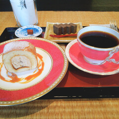 桜乃/和カフェ/生チョコ/デザート/和スイーツ/スイーツ/... 先日ご紹介した「炭火焙煎珈琲 桜乃(さく…