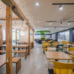 リノベーション/オフィスリノベーション/オフィスデザイン/中古マンション/マンション/戸建て/... 今日はどこに座ろうかな♪ ワークスペース…(1枚目)