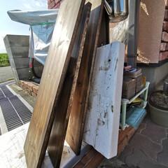 ワトコ社 ワトコオイル浸透性木材用塗料 エボニー 1L W-10(ペンキ、塗料)を使ったクチコミ「「玄関収納、靴棚完成!」なのだワン!🐾 …」(5枚目)